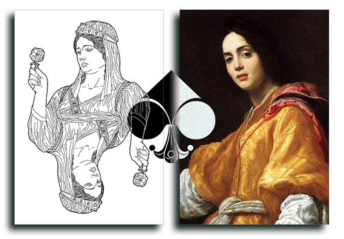 Nouveau-Playing-Cards-Judith