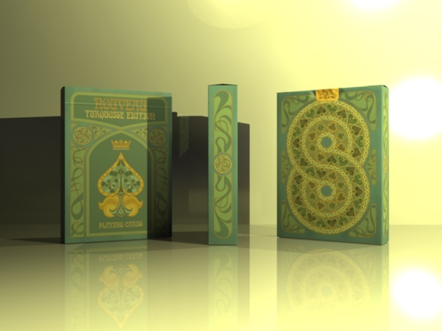 Nouveau-Turquoise-Playing-Cards-by-BFPC-Box