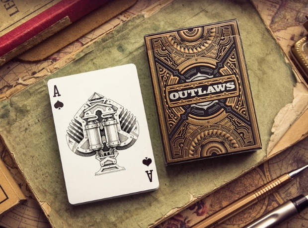 Outlaws-Playing-Cards-by-Mike-Ace-of-Spades