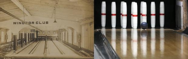 Candlepin-bowling