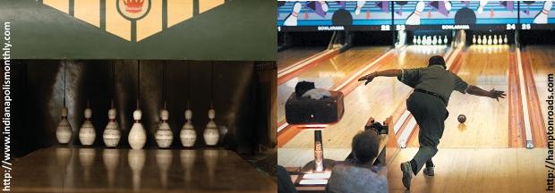Duckpin-Bowling