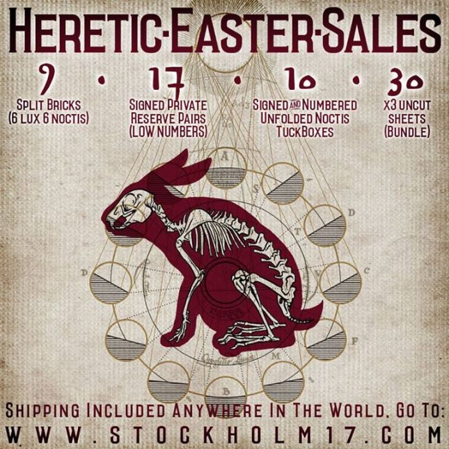 Heretic-Easter-Sales