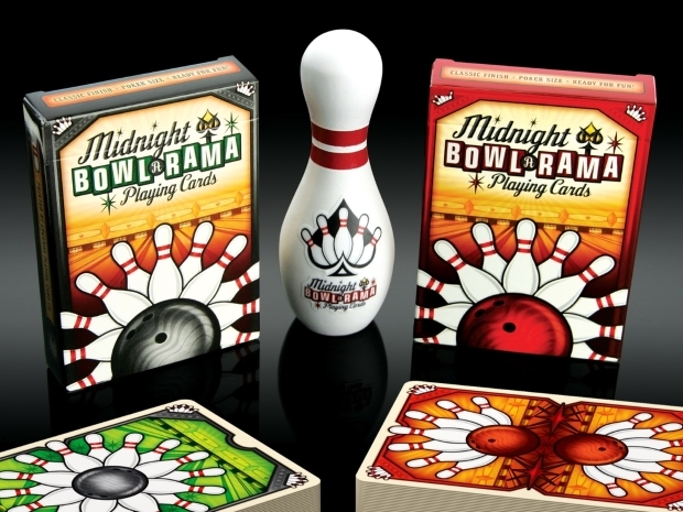 Midnight-BOWL-A-RAMA-Playing-Cards-by-Randy-Butterfield