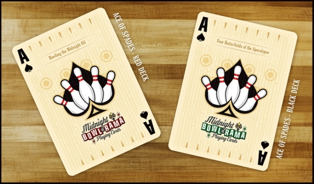 Midnight-BOWL-A-RAMA-Playing-Cards-by-Randy-Butterfield-Ace-of-Spades