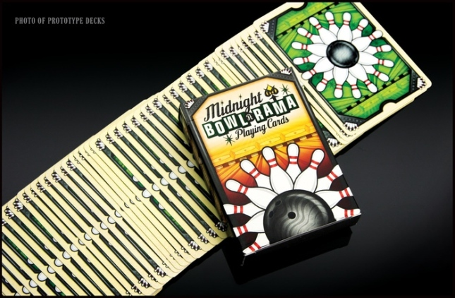 Midnight-BOWL-A-RAMA-Playing-Cards-by-Randy-Butterfield-Black-Edition