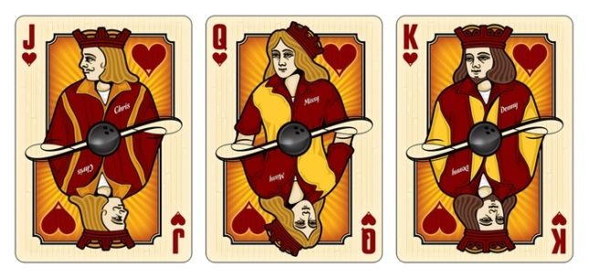 Midnight-BOWL-A-RAMA-Playing-Cards-by-Randy-Butterfield-Courts-Hearts