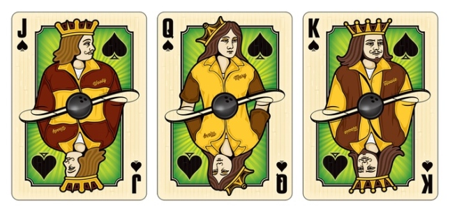 Midnight-BOWL-A-RAMA-Playing-Cards-by-Randy-Butterfield-Courts-Spades