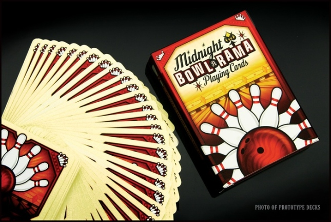 Midnight-BOWL-A-RAMA-Playing-Cards-by-Randy-Butterfield-Red-Edition