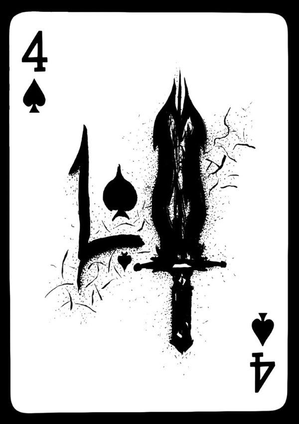 Playing-Cards-by-Victor-Four-of-Spades