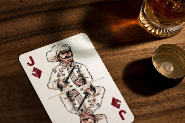 Playing cards art collecting spielkarte for Sideboard um die ecke