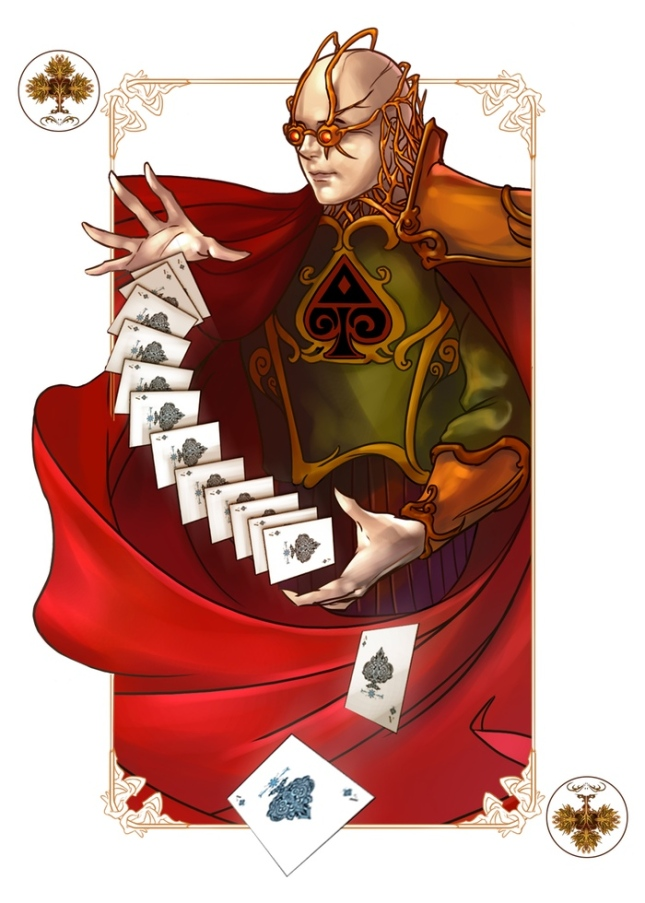 The-Four-Seasons-Deck-Number-Cards-Autumn-Joker