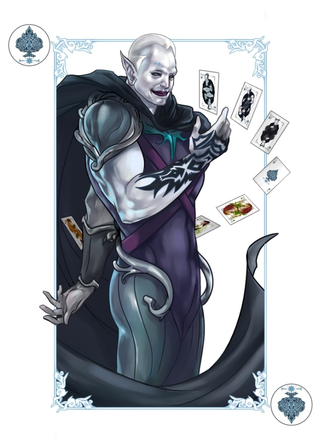 The-Four-Seasons-Deck-Number-Cards-Winter-Joker