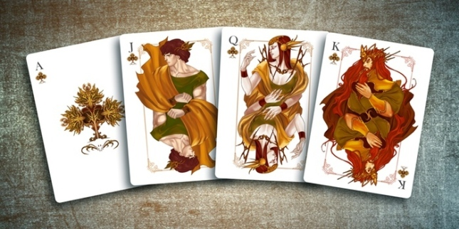The-Four-Seasons-Playing-Cards-Courts-Clubs