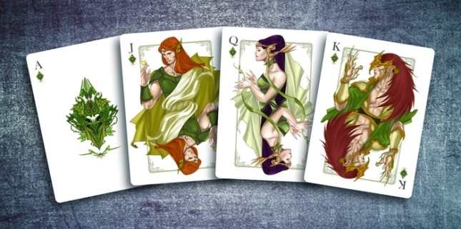 The-Four-Seasons-Playing-Cards-Courts-Diamonds