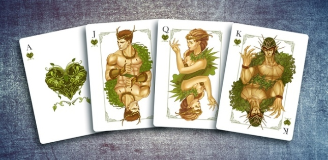 The-Four-Seasons-Playing-Cards-Courts-Hearts