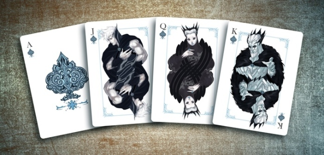 The-Four-Seasons-Playing-Cards-Courts-Spades