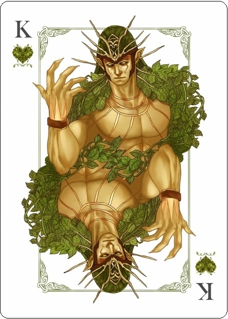 The-Four-Seasons-Playing-Cards-King-of-Hearts