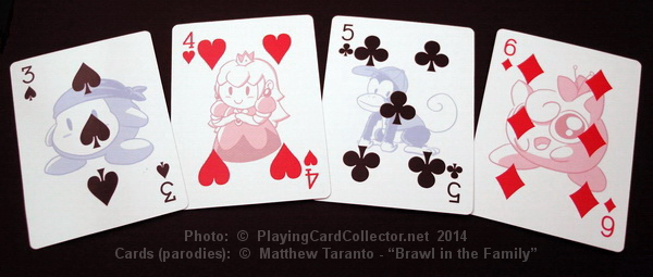 Brawl-in-the-Family-Playing-Cards-Number-Cards-3-4-5-6