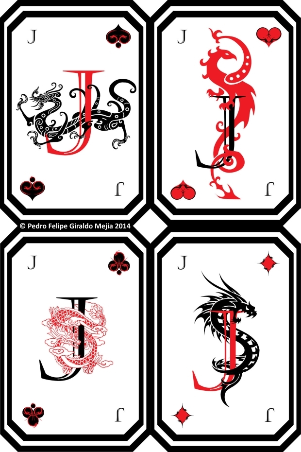 Dragon-Playing-Cards-by-Pedro-Felipe-Giraldo-Mejia-Jacks