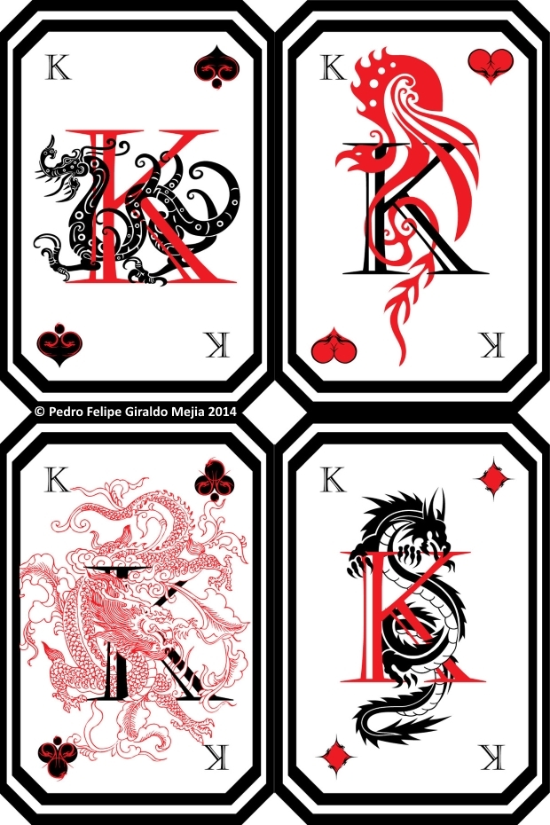 Dragon-Playing-Cards-by-Pedro-Felipe-Giraldo-Mejia-Kings