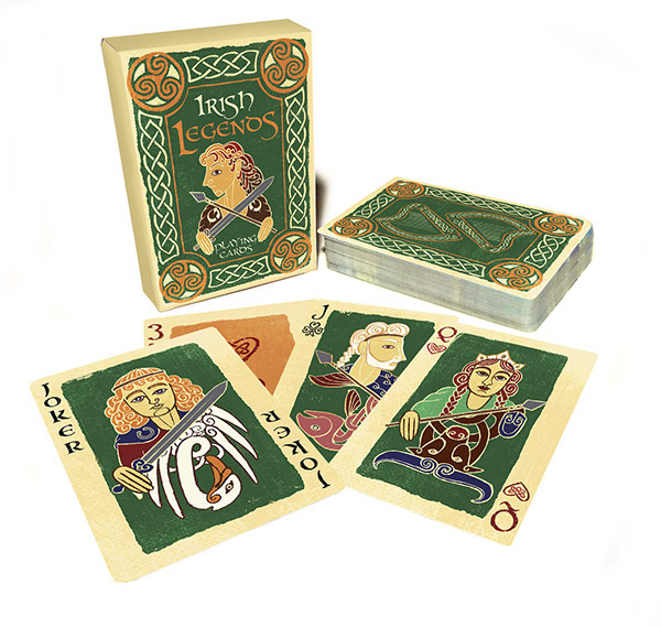 Irish-Legends-Playing-Cards-by-Vivian-Hansen