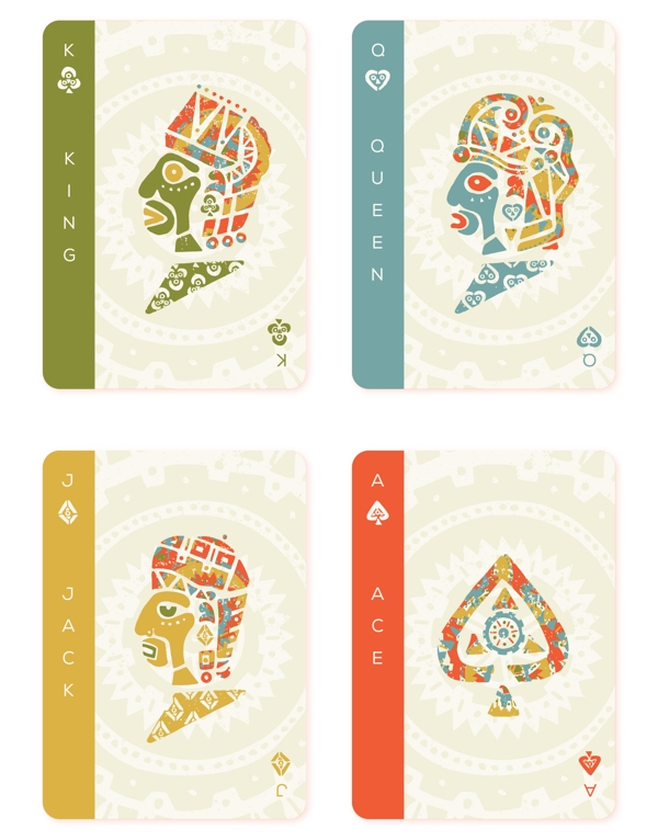 Mesoamerica-Playing-Cards-by-Hector-Perez-Courts