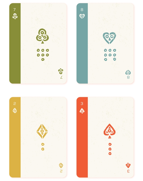 Mesoamerica-Playing-Cards-by-Hector-Perez-Number-Cards