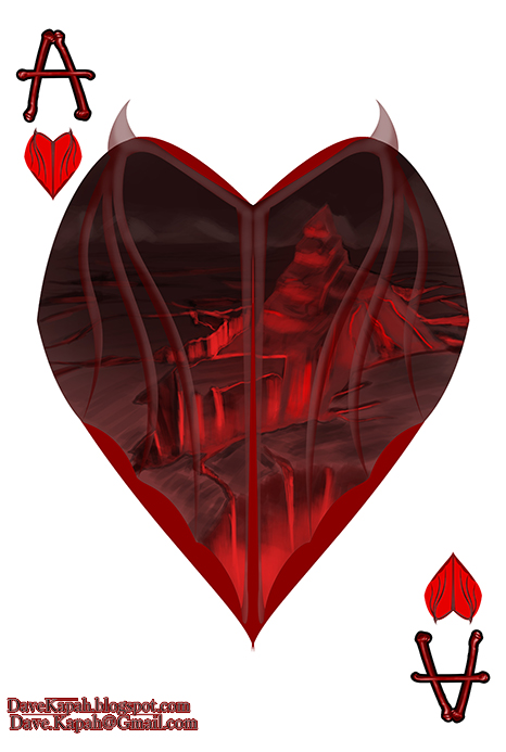 Playing-Cards-by-David-Kapah-Ace-of-Hearts