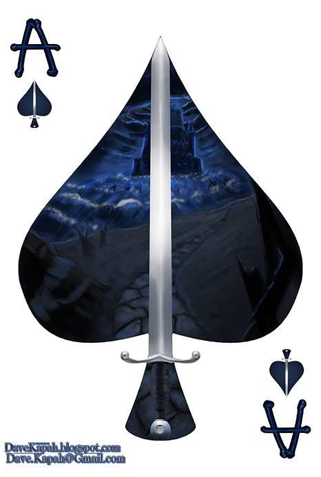 Playing-Cards-by-David-Kapah-Ace-of-Spades