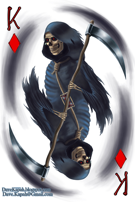 Playing-Cards-by-David-Kapah-King-of-Diamonds