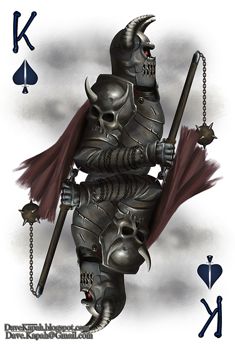 Playing-Cards-by-David-Kapah-King-of-Spades