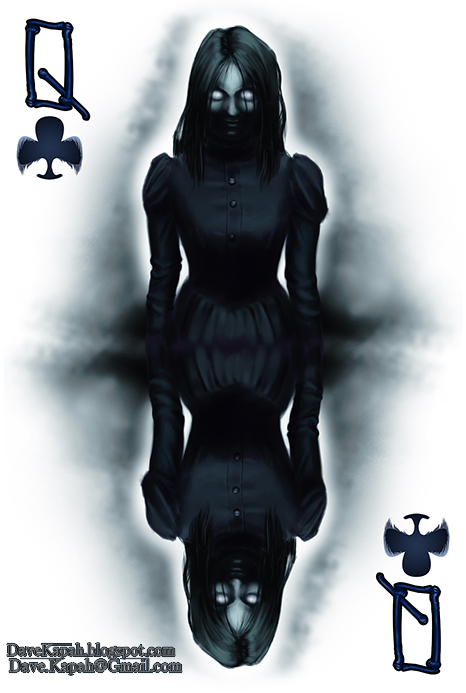 Playing-Cards-by-David-Kapah-Queen-of-Clubs